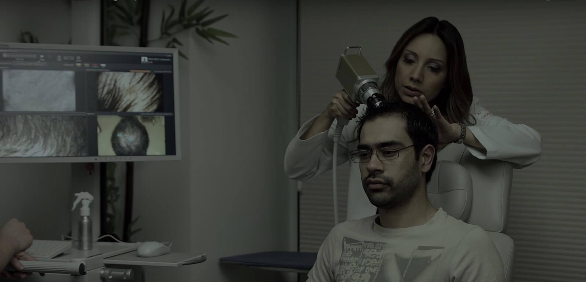 Cirugía de transplante de cabello